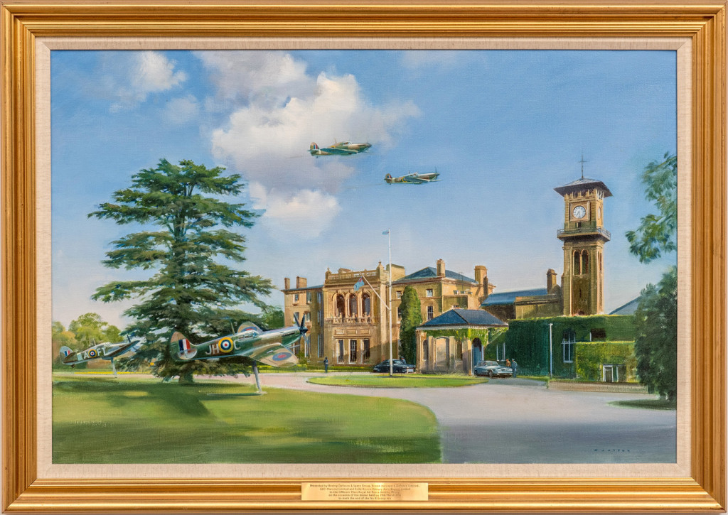 29.-Painting-of-RAF-Bentley-Priory